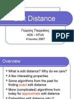 Edit Distance solution