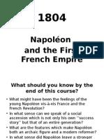 5 - Napoléon Premier Empire