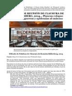Bilderberg_FiltradoDeReuniónDeClausura2014_ColapsoEconómicoGuerrasYEpidemias.docx