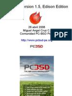 PC-BSD  FLISOL 2008