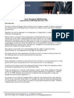 A Guide to the Law on Working Time Organisation of Working Time Act 1997