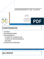 Mantencion Planta v3