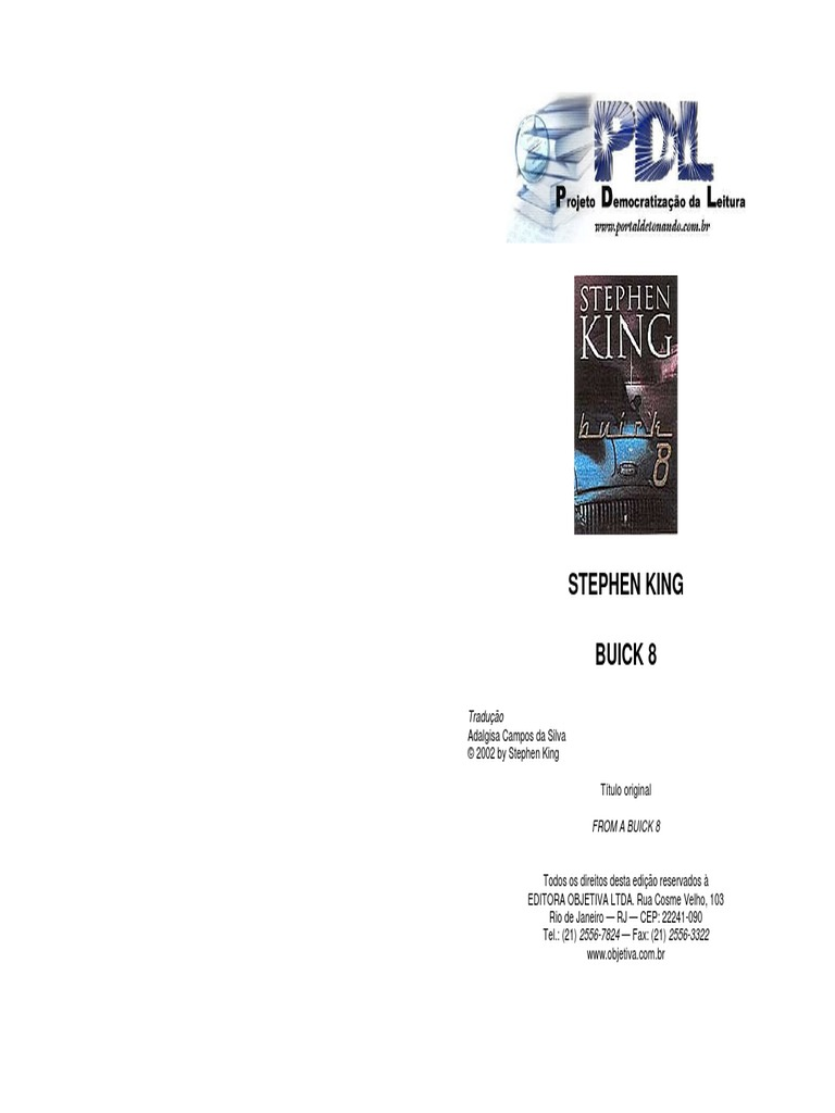 Buick 8 - Stephen King 1b89d7582d5