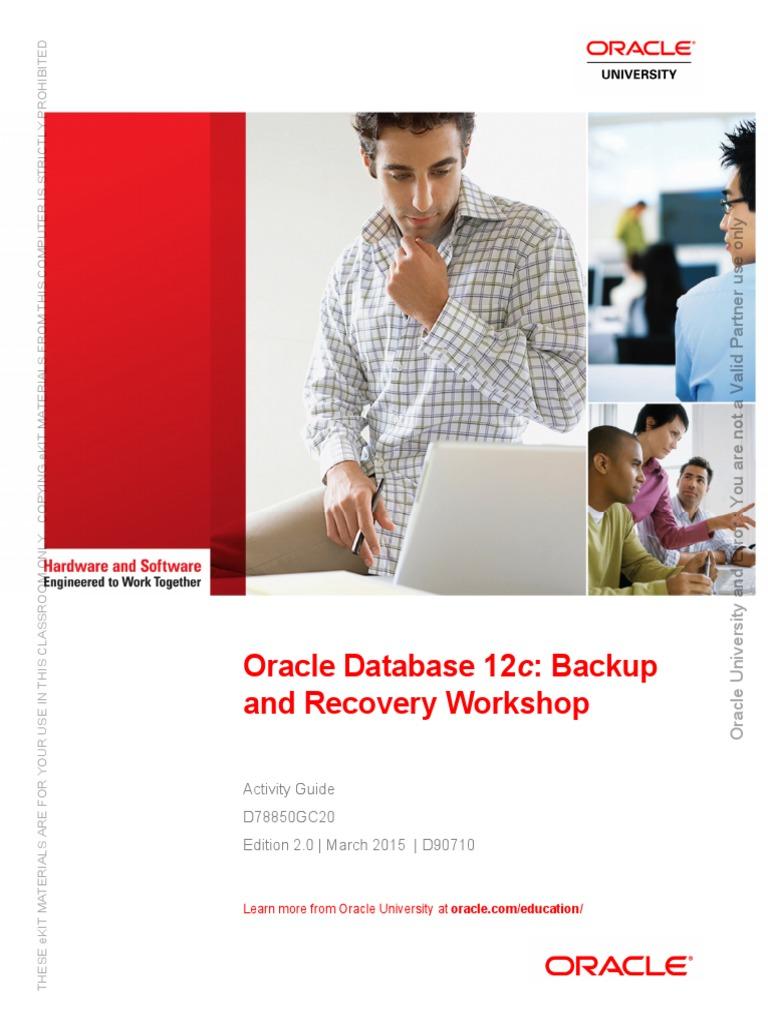 D78850GC20_ag | Oracle Database | Backup