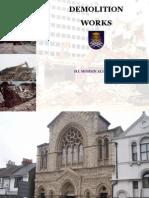 Demolition Lecture 2