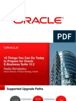 Oracle e Business Suite Release 12.2 Features