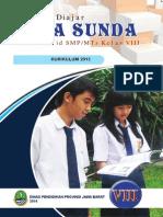 Pamekar Diajar Basa Sunda, Kelas VIII