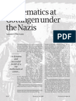 Mathematics at Göttingen under the Nazis