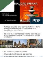 Centralidad Urbana