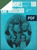 100 Los Hombres de La Historia Los Rothschild G Mori CEAL 1970