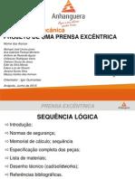 Apresentação - Projeto Prensa Excêntrica
