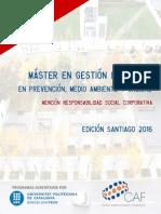 Máster Gestión Integrada 2016