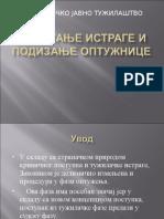 Okoncanje Istrage i Podizanje Optuznice - Olgica Miloradovic _izmenjeno 2013