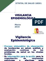 Capacitación Vigilancia Epidemiológica 2015