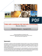 Mazziero - Falsi Miti e Credenze Del Mercato Commodity