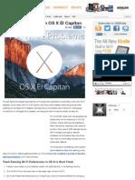 Fixing Wi-Fi Issues in OS X El Capitan