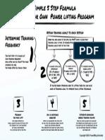 Simple 5 Step Formula A4