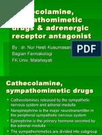 Cathecolamine, Sympathomimetic Drugs