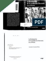 Antonio Cornejo Polar- La Formación de La Tradición Literaria en El Perú