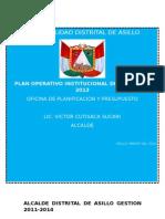 PLAN OPERATIVO INSTITUCIONAL ASILLO 2013 JHU FINALLL.docx
