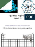 24. Química orgánica. Raymond Chang
