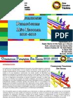 Orientaciones Pedagogicas Año Escolar 2015-2016. Visual