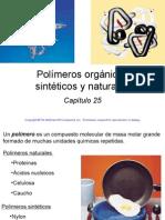 25. Polímeros Orgánicos Sintéticos y Naturales. Raymond Chang