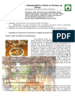 Exotic Foods: Nakapandidiri o Patok sa Panlasa ng: Pinoy?