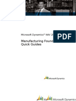 Quick Guides - Manufacturing Foundation