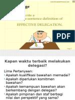 Delegasi Yg Efektif Fixed