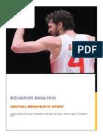 Gestural Analysis in Sport