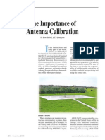 The Importance of Antenna Calibration