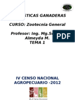 Censo Pecuario 2012