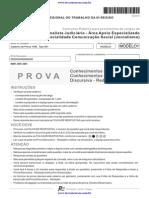 H08 Fcc 2012 Trt 6a Regiao Pe Analista Judiciario Comunicacao Social Provax