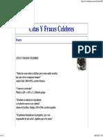 Citas y Fraces Celebres
