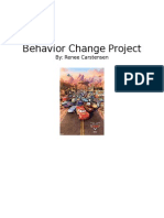behavior change project  wesite