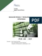 PGB422 Proyecto 2015-1