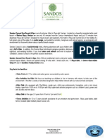 fact sheet sandos caracol ctmt en dd170114