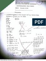 Electromagnetics Quiz 4