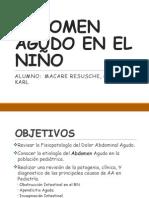 Abdomen Agudo en El Niño-final