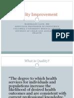 Uganda Quality Improvement