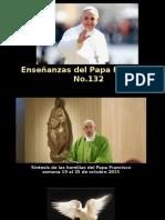 Enseñanzas del Papa Francisco - Nº 132