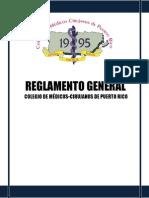 Proyecto Enmiendas Reglamento General - FINAL RYD