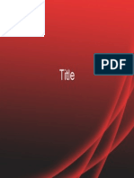 Power Point template