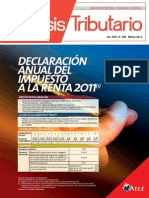 Revista Analisis Tributario Marzo 2012