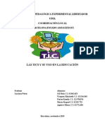 Las TICS en La Educación