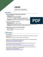 Strantz CV