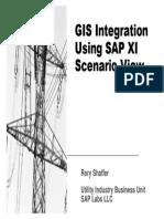 GIS Integration Using SAP XI