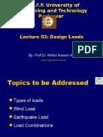 Lecture -3 Design Loads