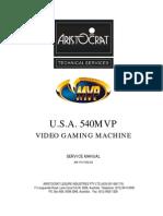 Mvp Service Manual aristocrat